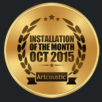 artcoustic-award TV Installation